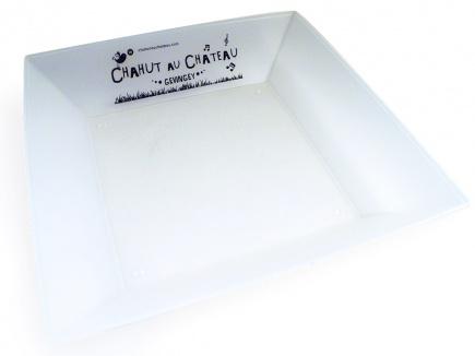 assiettes plastiques r utilisables assiette creuse en plastique r utilisable ecocup. Black Bedroom Furniture Sets. Home Design Ideas